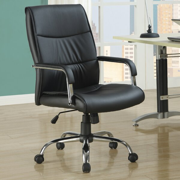 Leather Executive Chair by Monarch Specialties Inc.