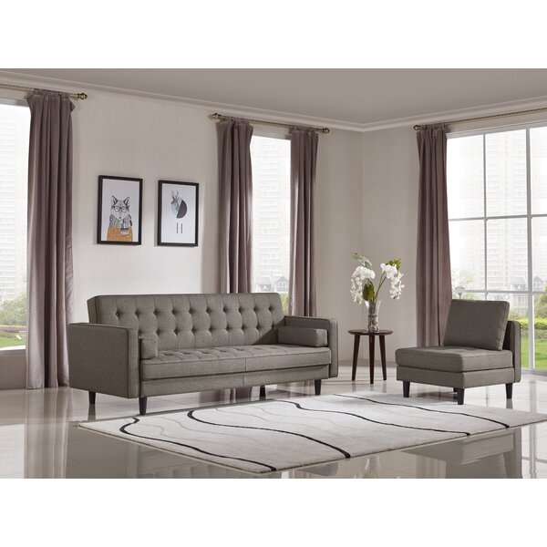 Gilreath Sleeper 2 Piece Living Room Set by Ivy Bronx