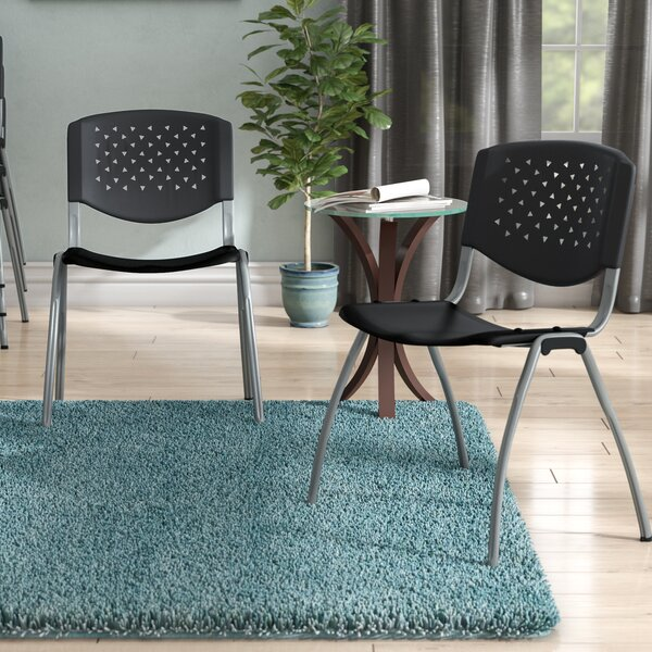 Series Armless Stacking Chair (Set of 2) by Symple Stuff