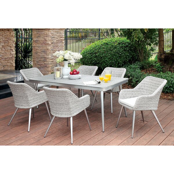Julius 7 Piece Dining Set by Langley Street