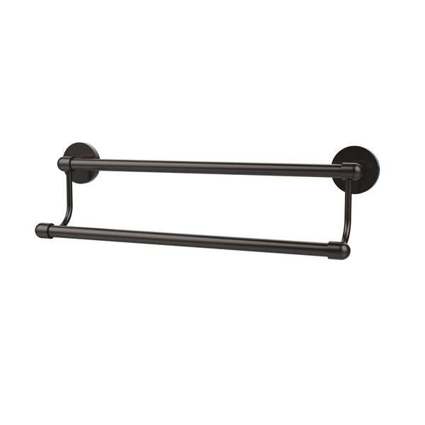 Tango Double Wall Mounted Towel Bar by Allied Brass
