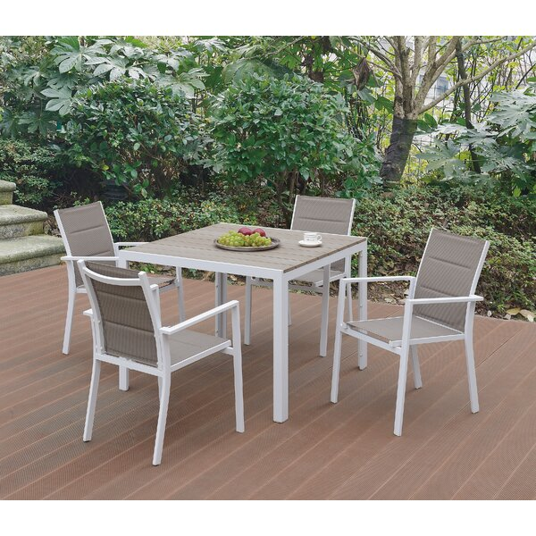 Mainor 5 Piece Dining Set by Latitude Run