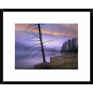'Yellowstone Lake, Yellowstone National Park, Wyoming' Framed Photographic Print by Global Gallery