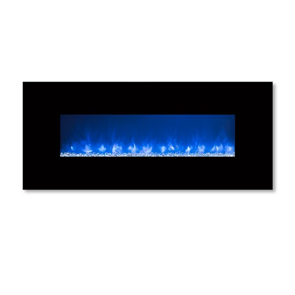 Ambiance Custom Linear Delux 2 Wall Mounted Electric Fireplace by Modern Flames