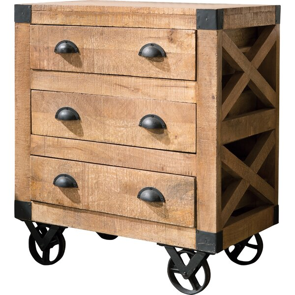 Thaney 3 Drawer Accent Chest by Gracie Oaks