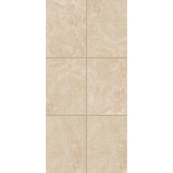 Bradwell 12 x 24 Ceramic Field Tile in Crema Marfil by Mohawk Flooring