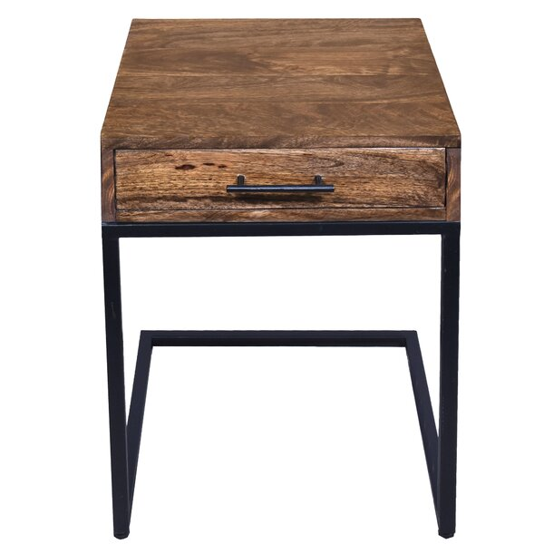 Hartwell End Table with Storage by Foundry Select