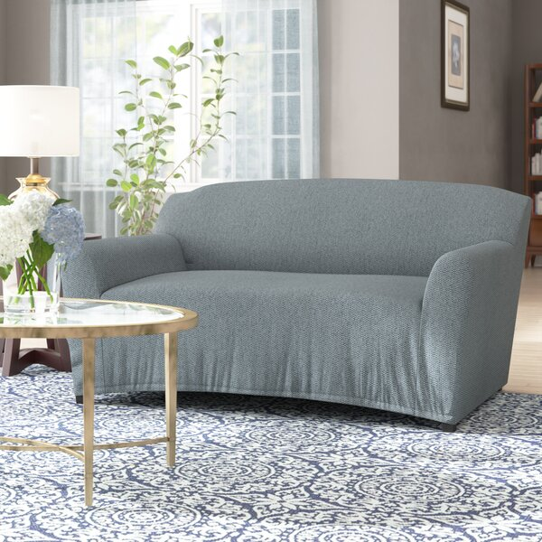 T-Cushion Loveseat Slipcover by Ebern Designs