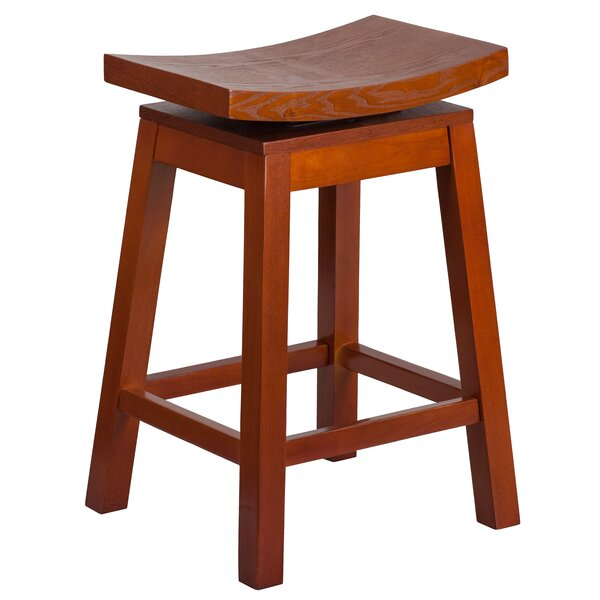 Gallup 26'' Swivel Bar Stool by Bloomsbury Market