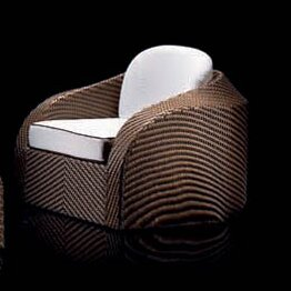 Eclipse Blockhouse Chair with Cushions by 100 Essentials
