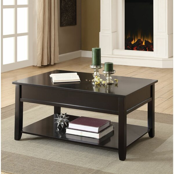 Huckstep Lift Top Coffee Table by Charlton Home