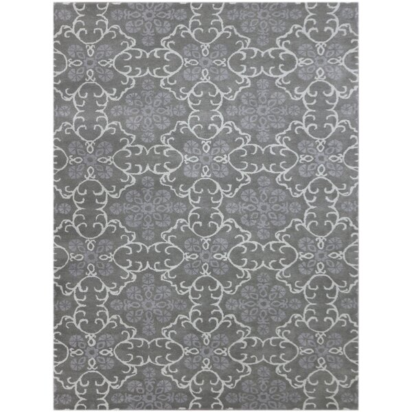 Kaydence Hand-Tufted Dove Gray Area Rug by Ophelia & Co.