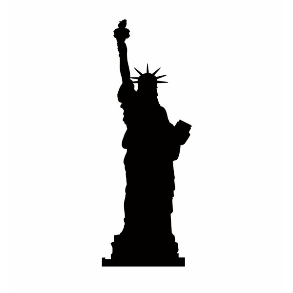 Statue of Liberty Silhouette Cardboard Stand-Up by Advanced Graphics