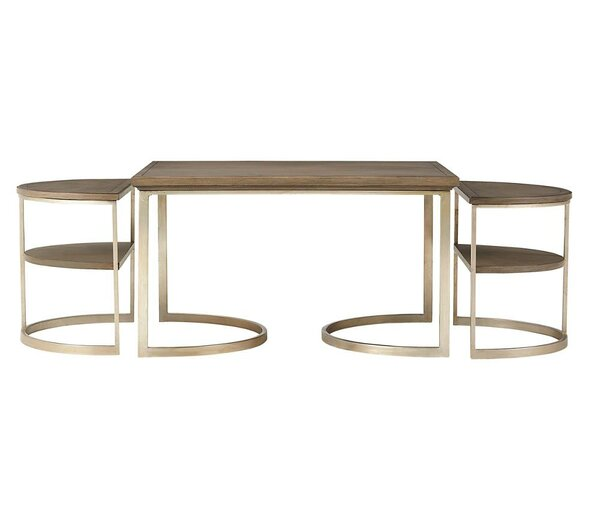 Virage 3 Piece Coffee Table Set by Stanley Furniture