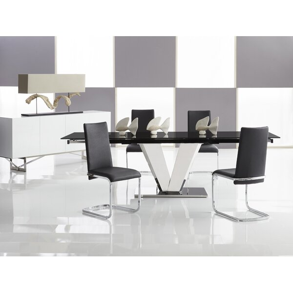 Otello Extendable Dining Table by Bellini Modern Living