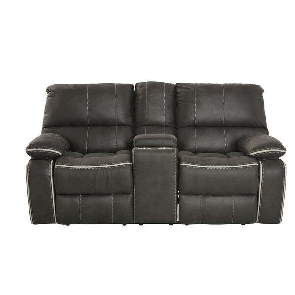 Flynt Reclining Loveseat by Ebern Designs