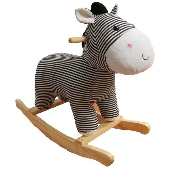 Large Zebra Rocker by Kids Preferred