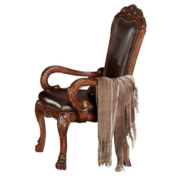 Jevon Arm Chair In Brown (Set Of 2) By Astoria Grand