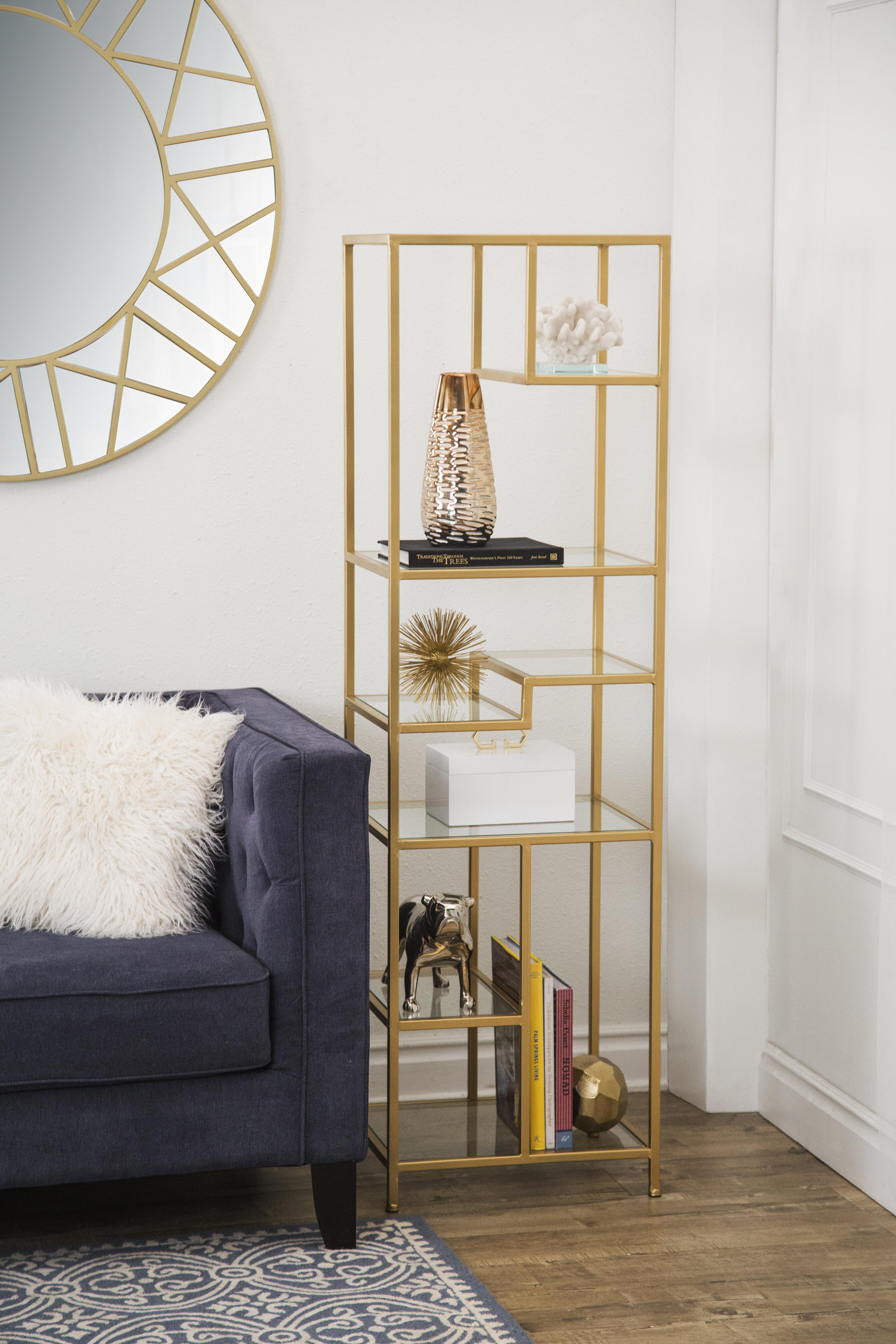 Osiris Geometric Bookcase