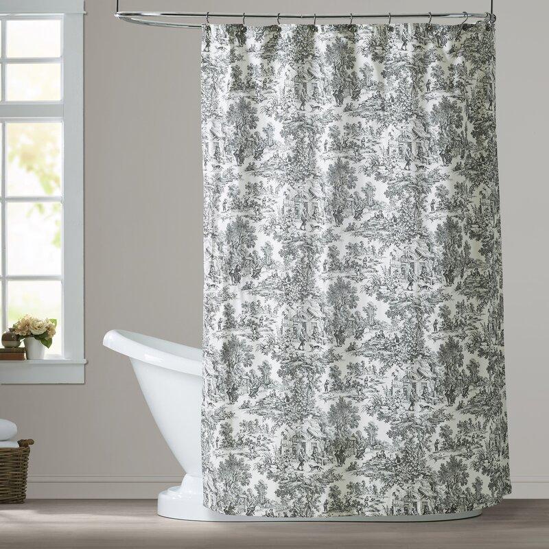 Gatineau Cotton Toile Shower Curtain