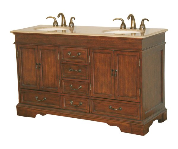 Betsy 60 Double Bathroom Vanity Set by Darby Home Co