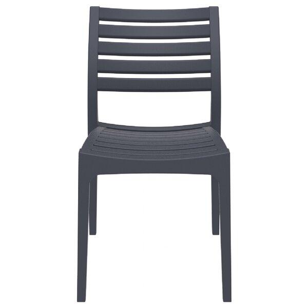 Nevarez Stacking Patio Dining Chair (Set of 2) by Mercury Row