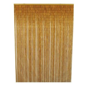 Porter Bamboo Slat Single Curtain Panel