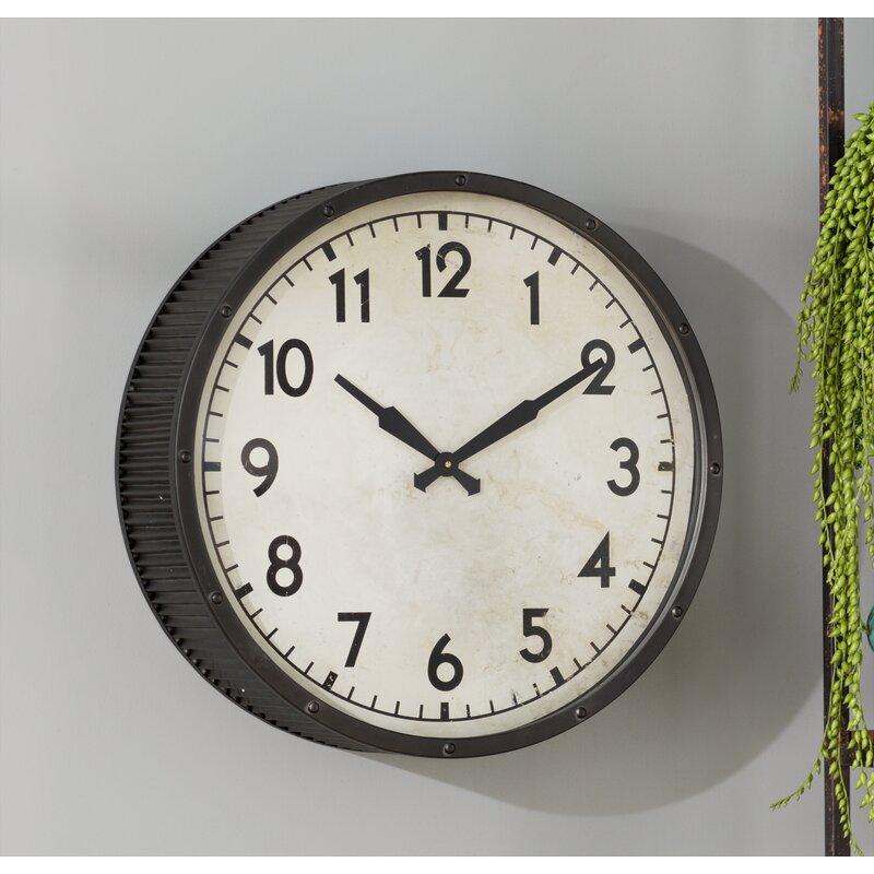 Trent Austin Design 22 Quot Wall Clock Amp Reviews Wayfair