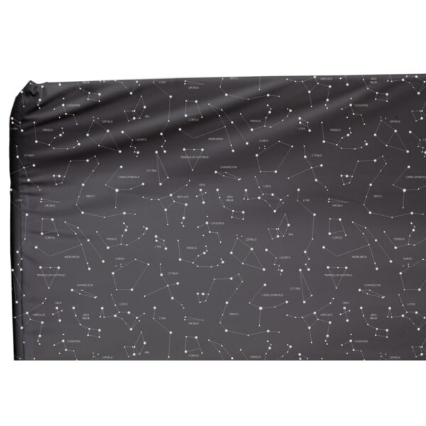 Cassiopeia Fitted Crib Sheet by Blush & Blue