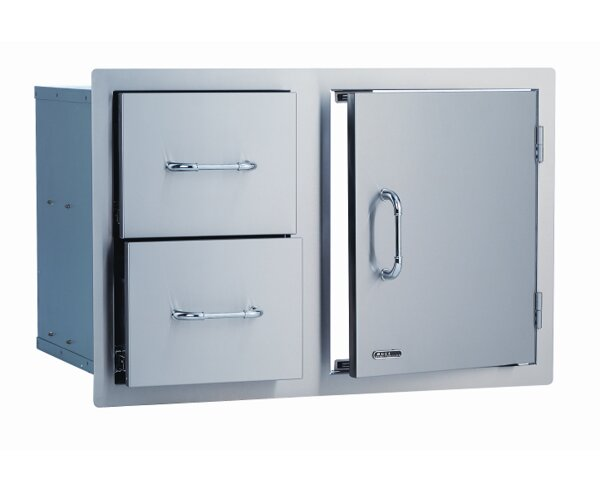Stainless Steel Door / Cabinet Combo by Bull Outdoor Products