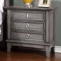 Reviews Palmisano 3 Drawer Nightstand By One Allium Way