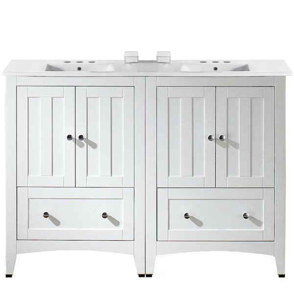 Riordan 48 Double Bathroom Vanity Set by Royal Purple Bath Kitchen