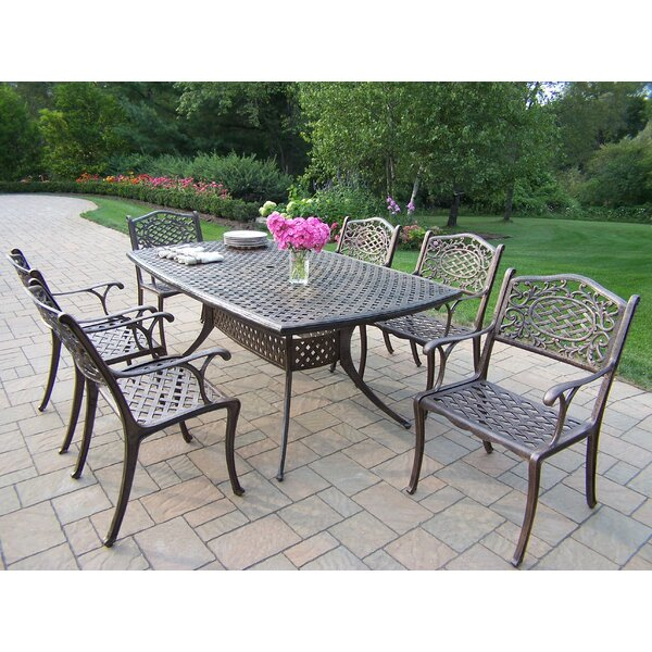 Oxford Mississippi 7 Piece Dining Set by Oakland Living
