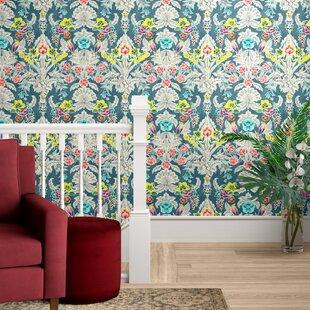 Asuncion Semi-Gloss Peel and Stick Wallpaper Roll