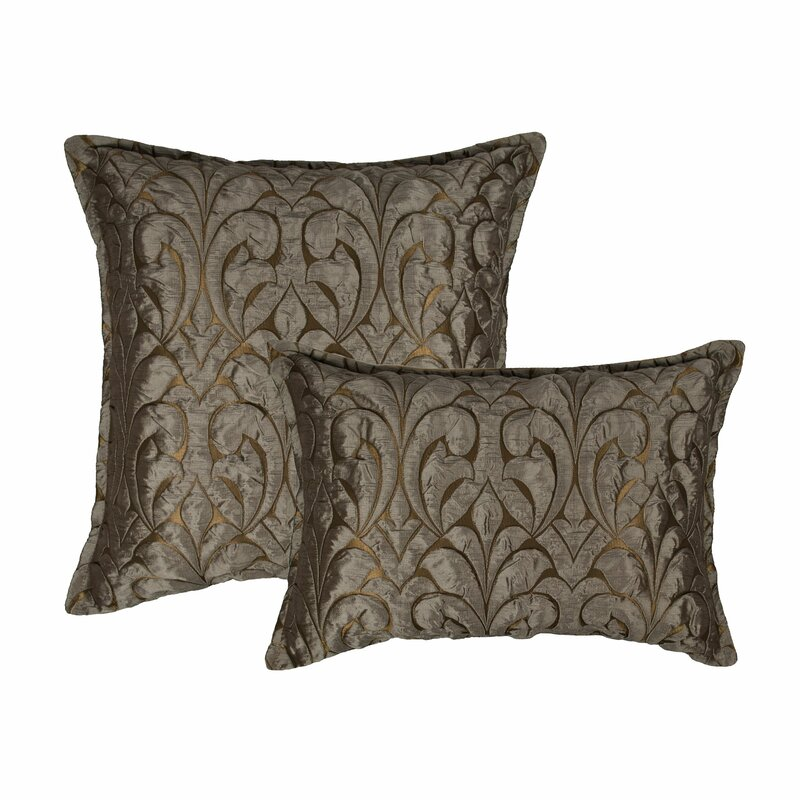 Sherry Kline Canyon Embossed Luxury Combo Decorative 2 Piece Pillow Set Perigold