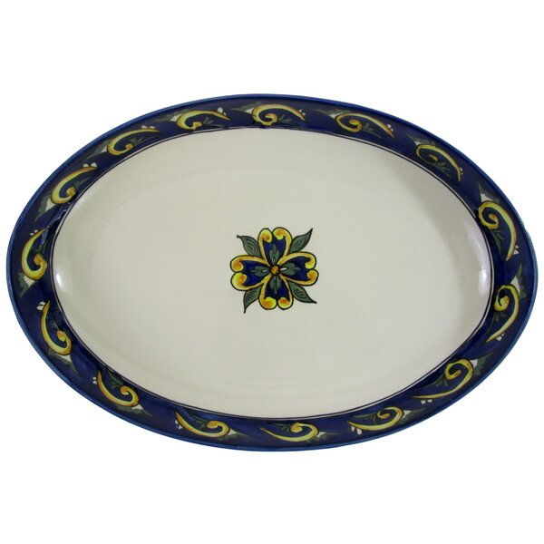 Riya Stoneware Poultry Platter by Le Souk Ceramique