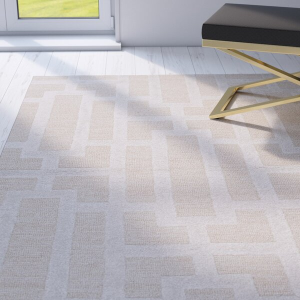 Avery Taupe / Gray Geometric Area Rug by Willa Arlo Interiors