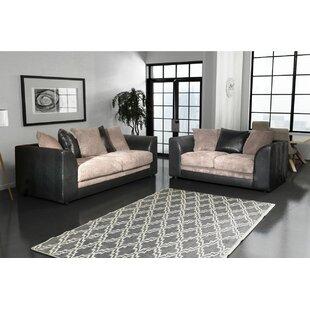 Los Angeles 2 Piece Sofa Set By Home Loft Concept