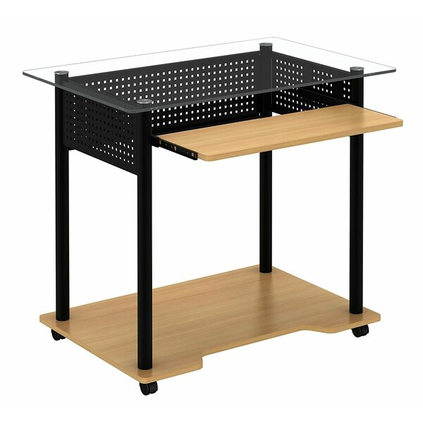 Leahy Rolling Computer Desk by Symple Stuff