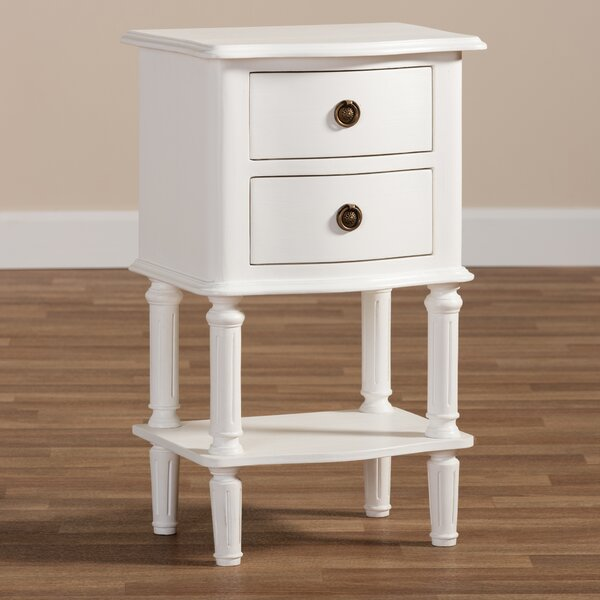 Marc 2 Drawer Nightstand by August Grove