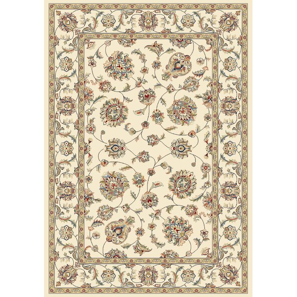 Attell Ivory/Ivory Area Rug by Astoria Grand