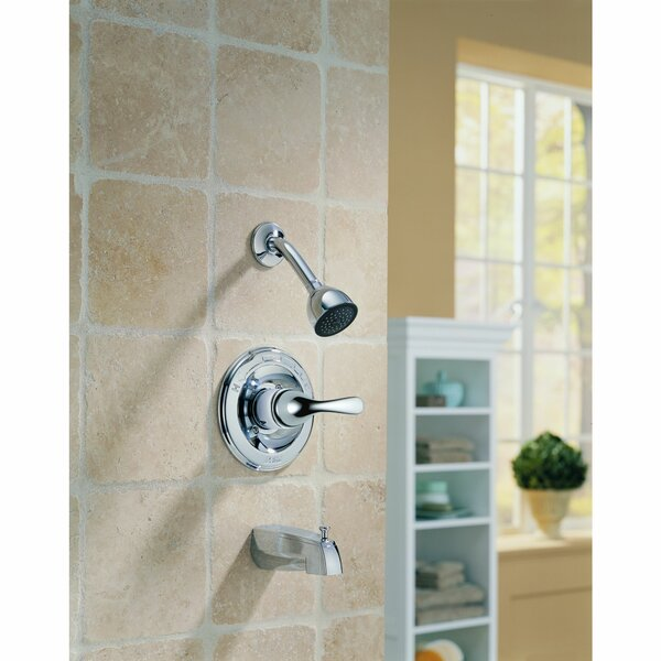 Other Core Tub And Shower Faucet Trim With Lever Handles And Monitor By Delta