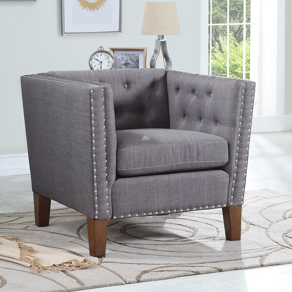 Chalk Accent Armchair by House of Hampton