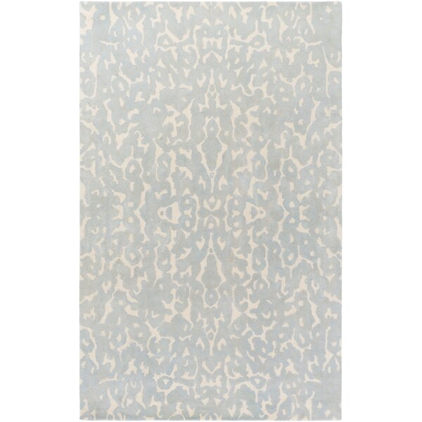 Ginter Hand-Tufted Light Gray Area Rug by Ivy Bronx