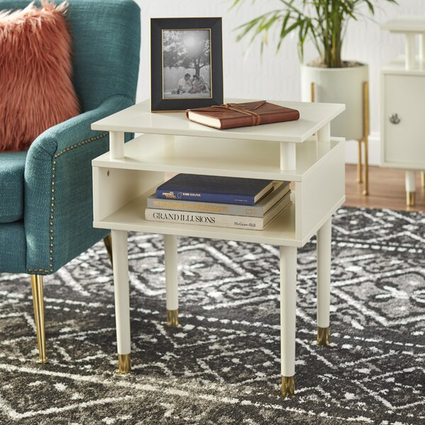 Callaham End Table With Storage By Wrought Studio