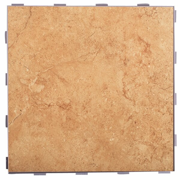 Classic ThinLine 12 x 12 Porcelain Field Tile in Mocha by SnapStone