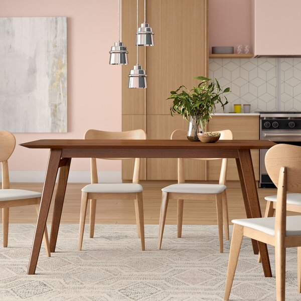 Ahner Rectangular Dining Table By Langley Street Coupon