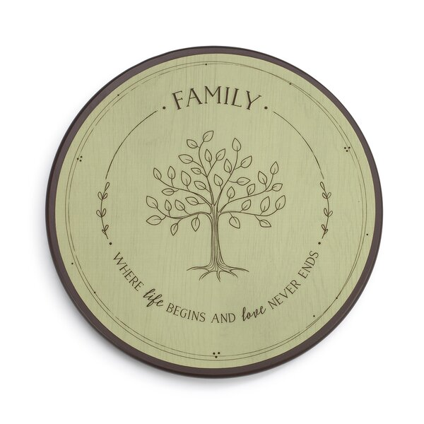 Family Tree Lazy Susan by DEMDACO