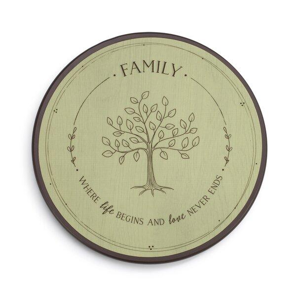 Family Tree Lazy Susan by DEMDACO