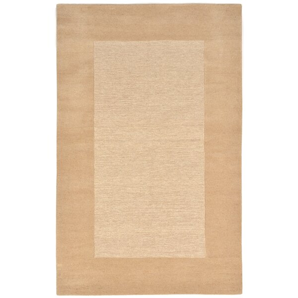Dewsbury Neutral Border Area Rug by Charlton Home